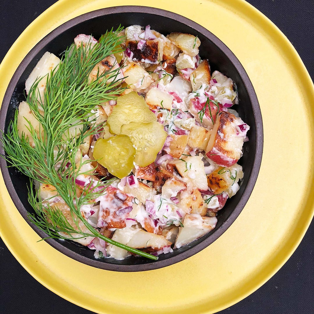 Potato Salad for Pickle Lovers
