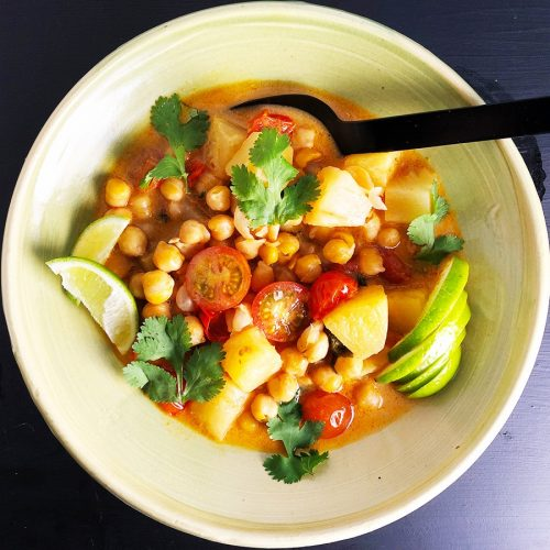 15 Minute Thai Chickpea Curry